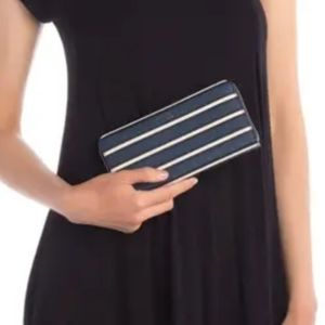 Kate Spade Cameron Large Continental Wallet Stripe